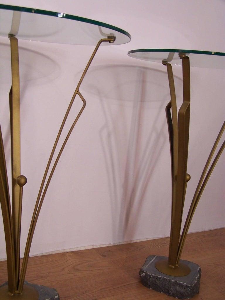 Pair of Art Deco Design Tables For Sale 1