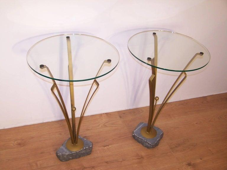 20th Century Pair of Art Deco Design Tables For Sale