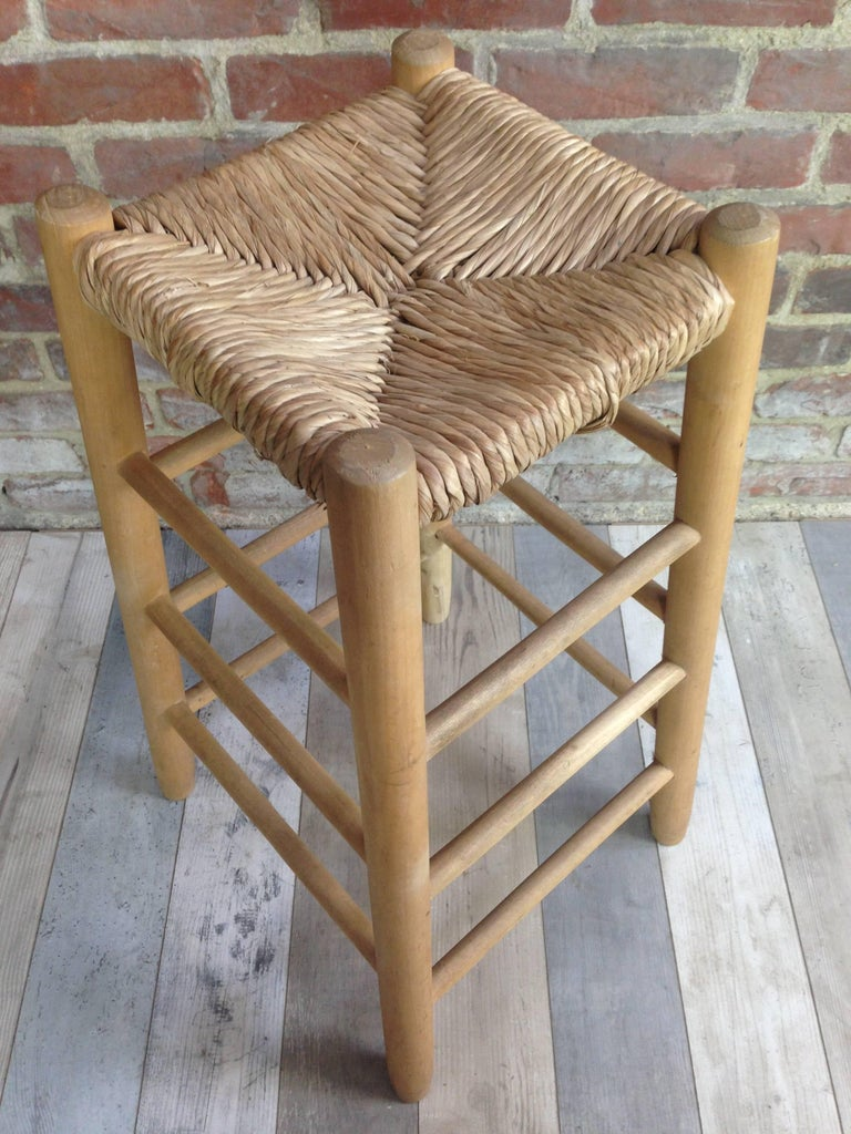 High Stool French Design Of The 1950s In The Manner Of