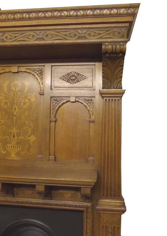 Arts And Crafts Fireplace For Sale