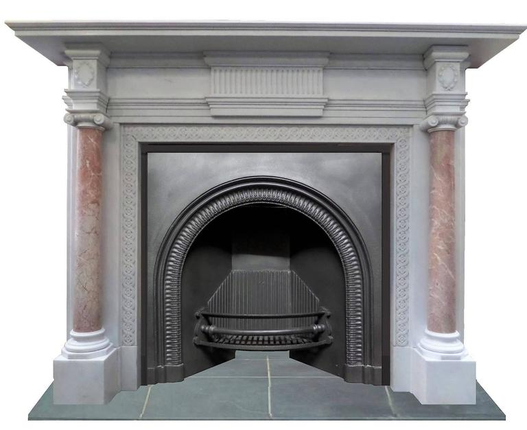 19th Century Georgian Regency Cast Iron Insert Fireplace For Sale At 1stdibs