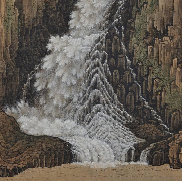 Hand-Painted Sugitani Sessho