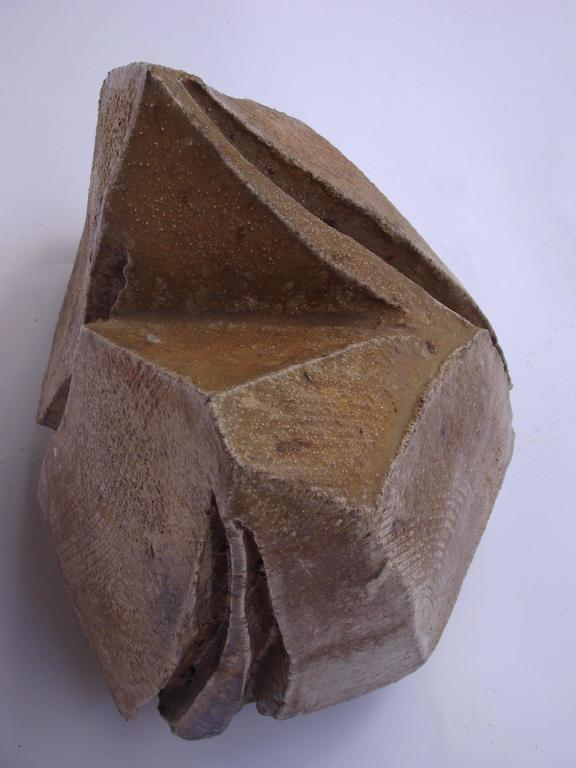 Brutalist Ceramic Sculpture by Eric Astoul, circa 1980-1990 In Good Condition For Sale In Saint-Ouen, FR