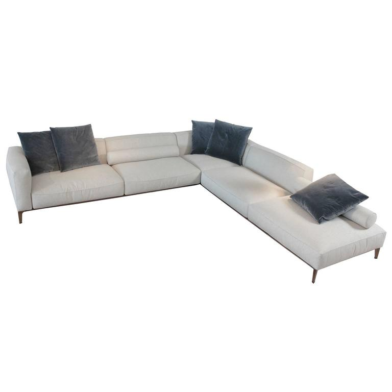 Superieur Giorgetti Aton Modern Sofa Sectional By Carlo Colombo For Sale