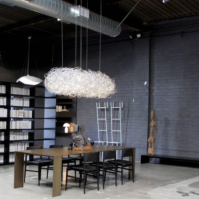 fil de fer led pendant lamp by enzo catellani for. Black Bedroom Furniture Sets. Home Design Ideas