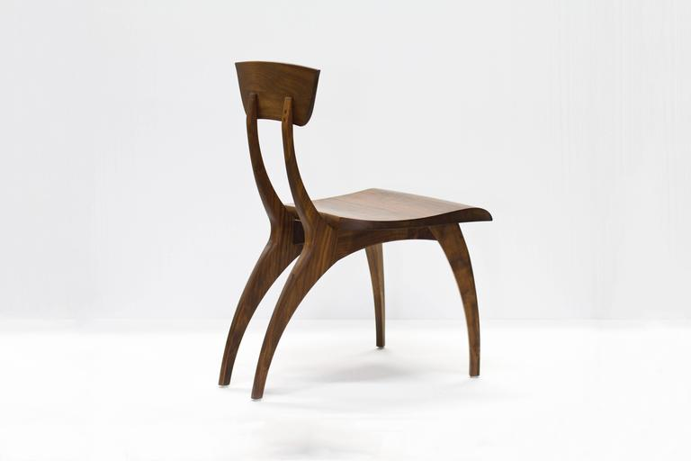 Hardwood Flicka Chair in Solid Walnut by Brooke M. Davis for Wooda For Sale