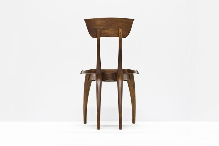 American Flicka Chair in Solid Walnut by Brooke M. Davis for Wooda For Sale