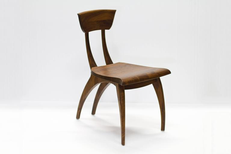 Flicka Chair in Solid Walnut by Brooke M. Davis for Wooda For Sale 1
