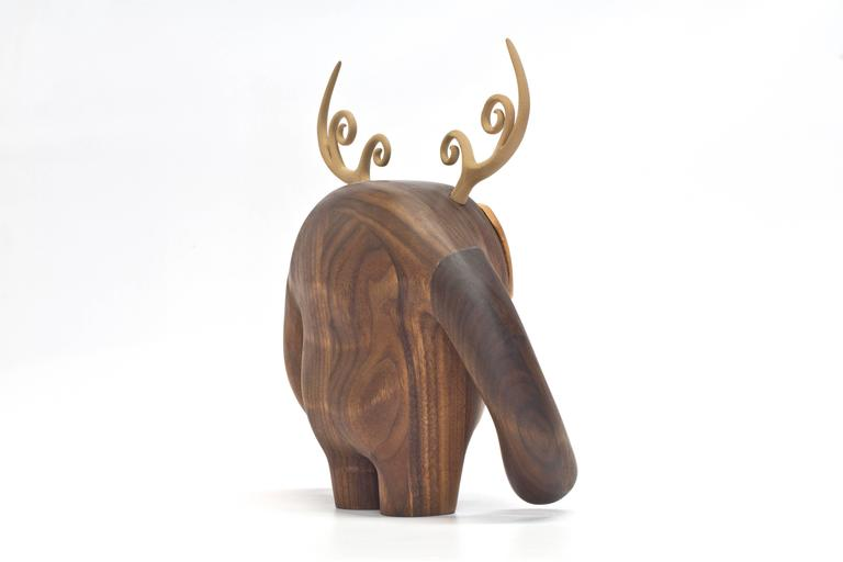 Hermanos Calavera, Conquistador in Walnut by Miguel and Ilse Silva for Wooda 4