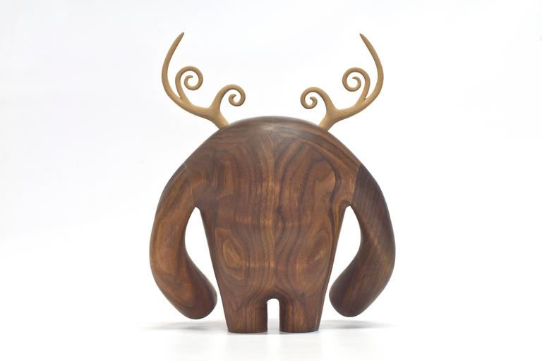Hermanos Calavera, Conquistador in Walnut by Miguel and Ilse Silva for Wooda 5