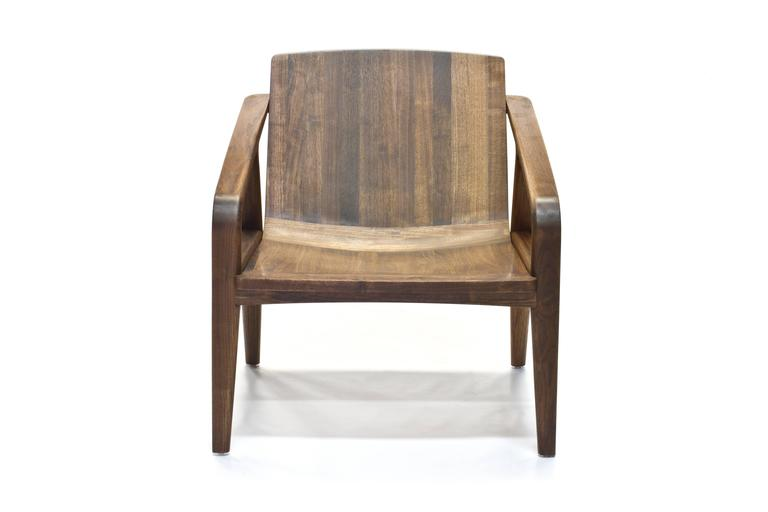 Pilot Lounge Chair in Solid Walnut by Scott Mason for Wooda 2