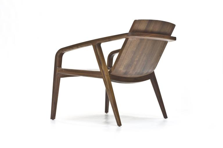 Pilot Lounge Chair in Solid Walnut by Scott Mason for Wooda 4