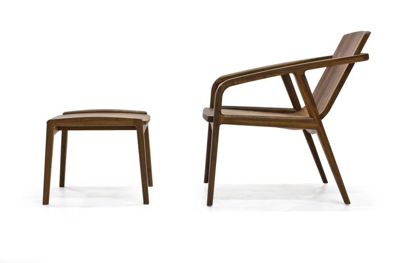 Pilot Lounge Chair in Solid Walnut by Scott Mason for Wooda 8