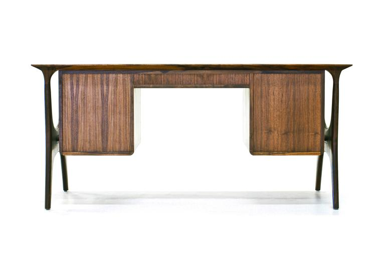 Sträcka Desk in Solid Walnut by Mack Geggie for Wooda 4