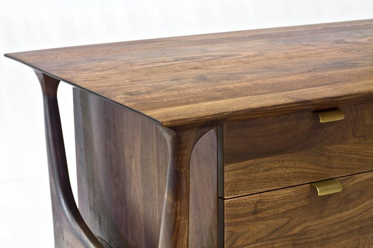 Sträcka Desk in Solid Walnut by Mack Geggie for Wooda 7