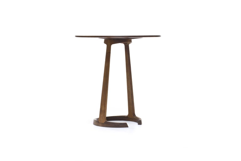 American Repose End Table in Oiled Walnut by Zac Feltoon for Wooda For Sale