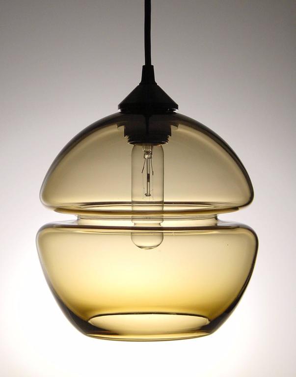 American Groove Series Molecule Chandelier- Modern Handmade Lighting- Made to Order For Sale
