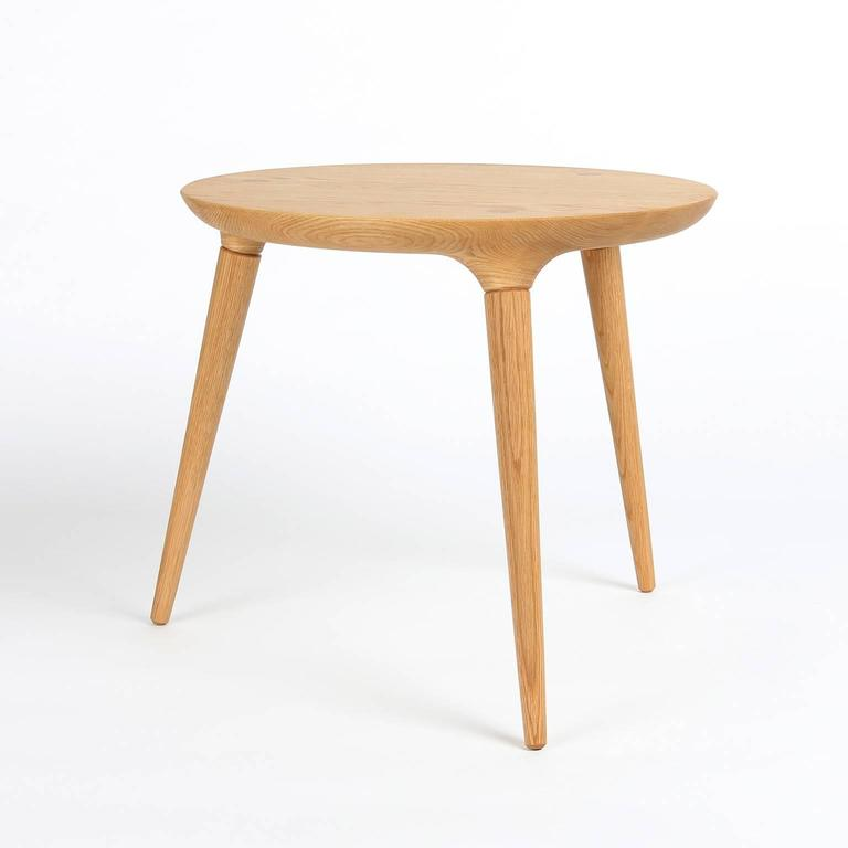 Coventry Side Table With Windsor Joinery In Oak By Studio