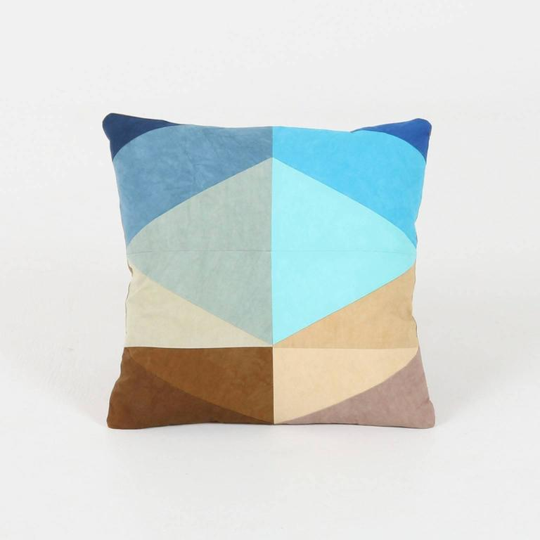 Quilted American Heritage Throw Pillow, Handmade to Order by Studio Dunn For Sale at 1stdibs