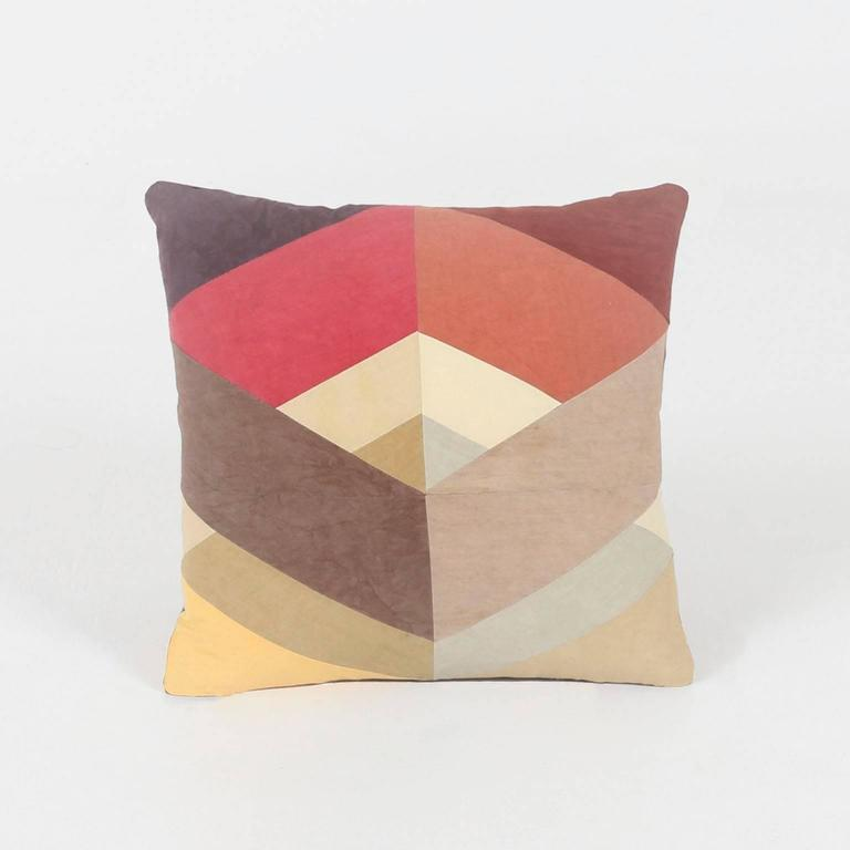 Throw Pillows Horchow : Quilted American Heritage Throw Pillow, Handmade to Order by Studio Dunn For Sale at 1stdibs