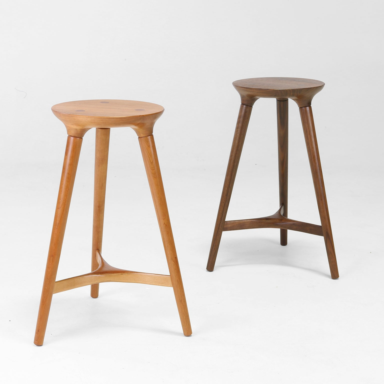 Kingstown Counter Stools, Scandinavian Inspired Design By Studio Dunn For Sale