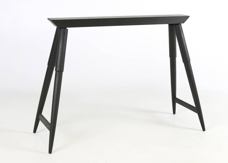 Rockport Sawhorse Contemporary Hardwood Accent Piece