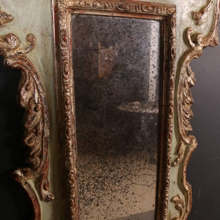 Set Of Three Danish Wall Mirrors For Sale At 1stdibs