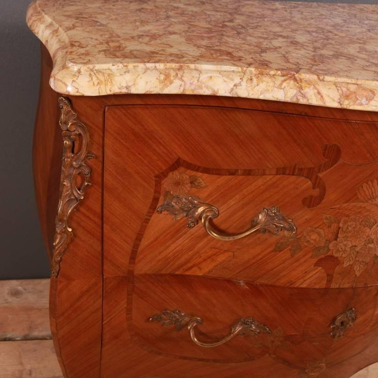 French Marquetry Commode For Sale 2