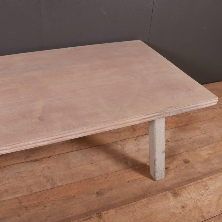 French Painted Coffee Table For Sale 1