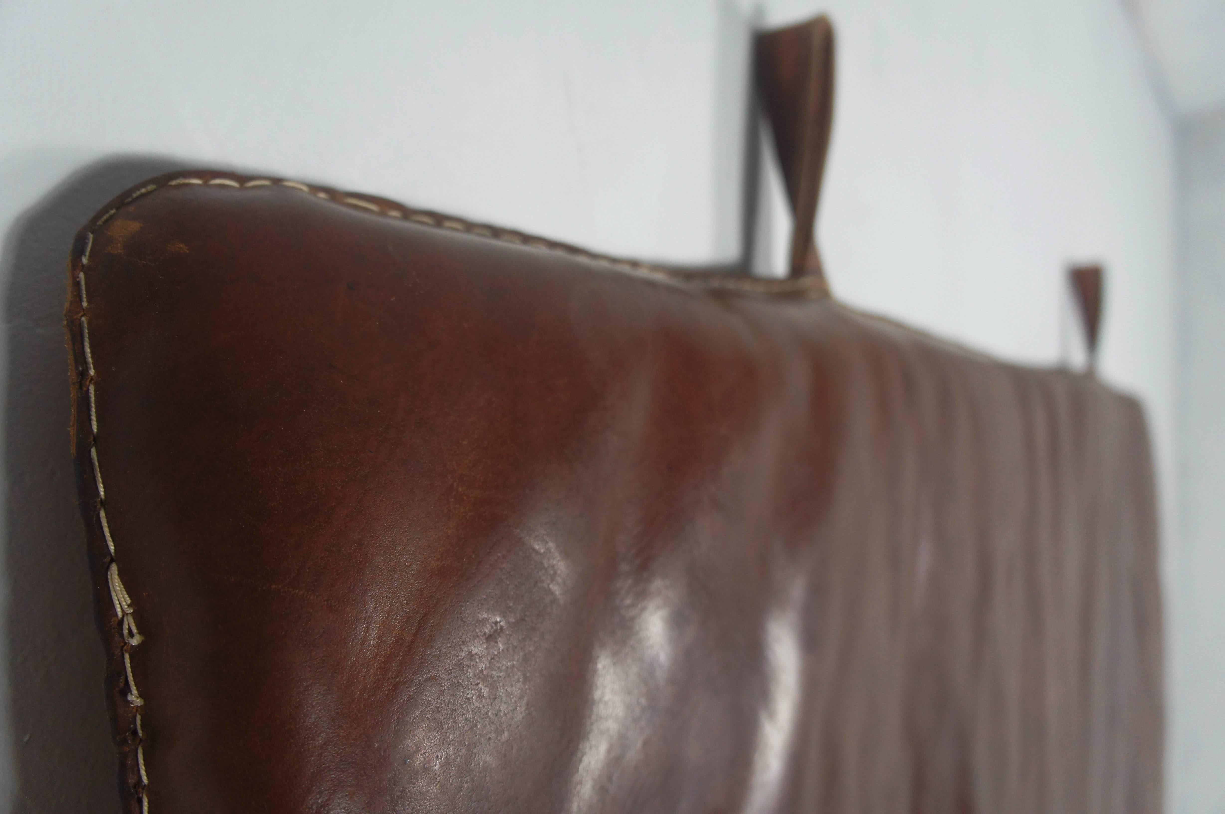 Vintage Leather Gym Mat Dating Form The 1950s, Sourced In Germany. Very  Clean Example