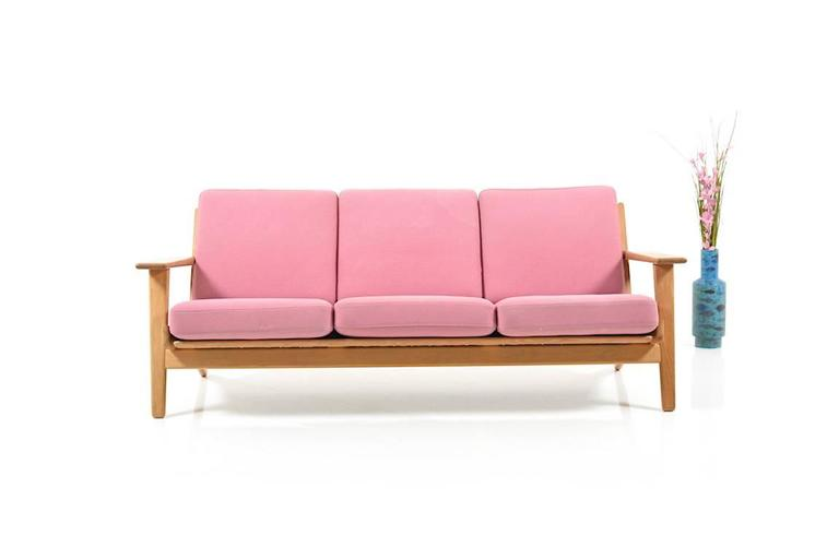 Ge-290/3 Sofa in Oak by Hans J.Wegner 10