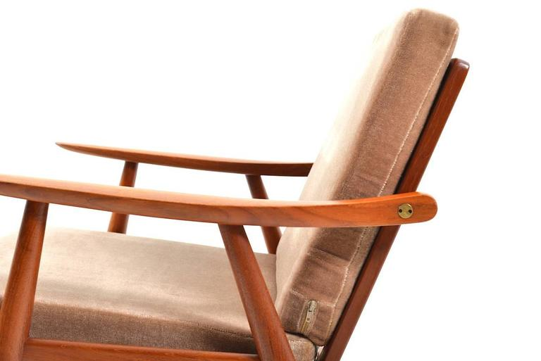 Scandinavian Modern Early GE-270 Easy Chair by Hans J. Wegner, 1950s For Sale