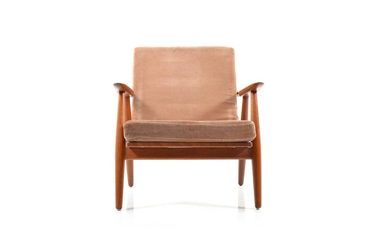 Mid-20th Century Early GE-270 Easy Chair by Hans J. Wegner, 1950s For Sale