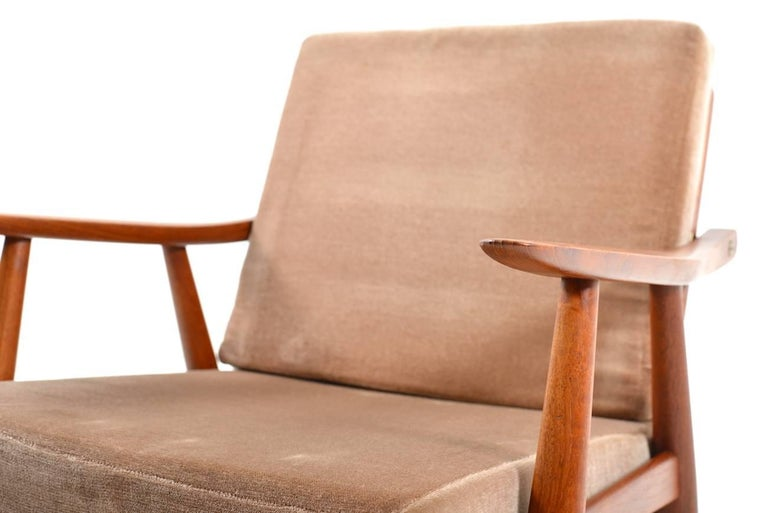 Early GE-270 Easy Chair by Hans J. Wegner, 1950s For Sale 1