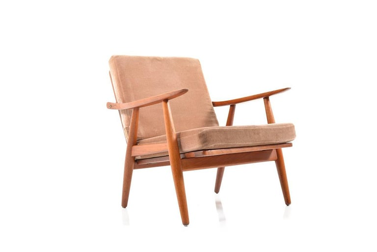 Early GE-270 Easy Chair by Hans J. Wegner, 1950s For Sale 2