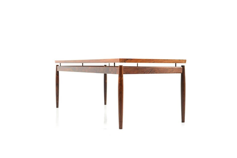 Mid-20th Century Rectangular Rosewood Sofa Table by Grete Jalk For Sale