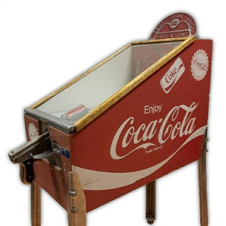 Mid Century Coca Cola Shooting Gallery Game For Sale At