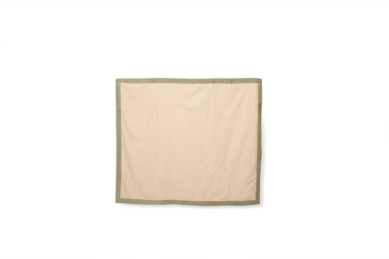 quilted vintage military canvas throw blanket for sale at 1stdibs
