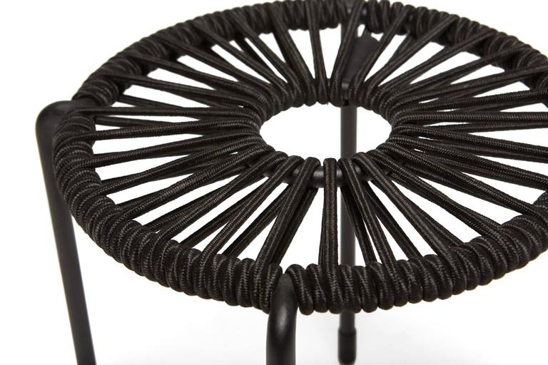 Modern Bowline Rope Stool - In Stock For Sale