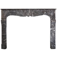 18th Century Louis XVI Style Anne's Marble Fireplace Mantel