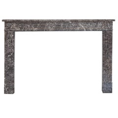 18th Century Louis XVI St Anne's Marble Fireplace Mantel