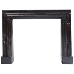 Nero Bolection Fireplace Mantle