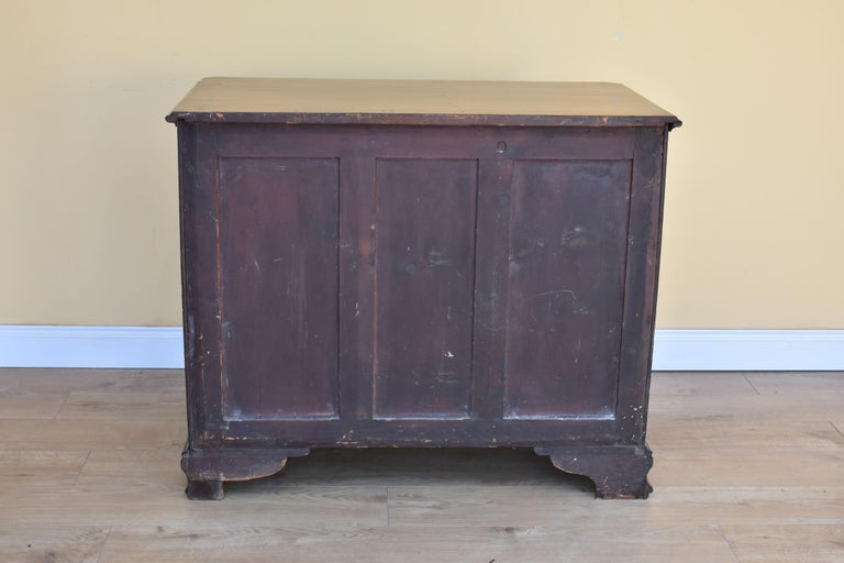 18th George III Century Chippendale Period Mahogany Chest of Drawers For Sale 5