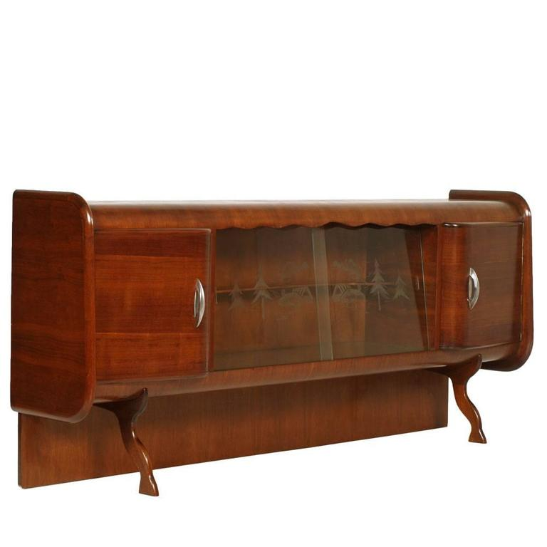Mid Century Credenza For Sale: Mid-Century Credenza Sideboard Cantù Production With