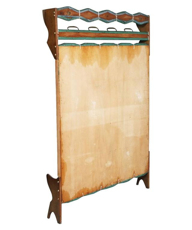 Mid century modern italian coat rack ico parisi style for Attaccapanni vintage