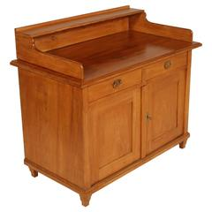 Last 19th Century Country Sideboard in Solid Larch of the Dolomite Alps