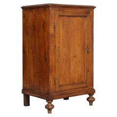 19th Century Antique Country Cabinet in Solid Fir