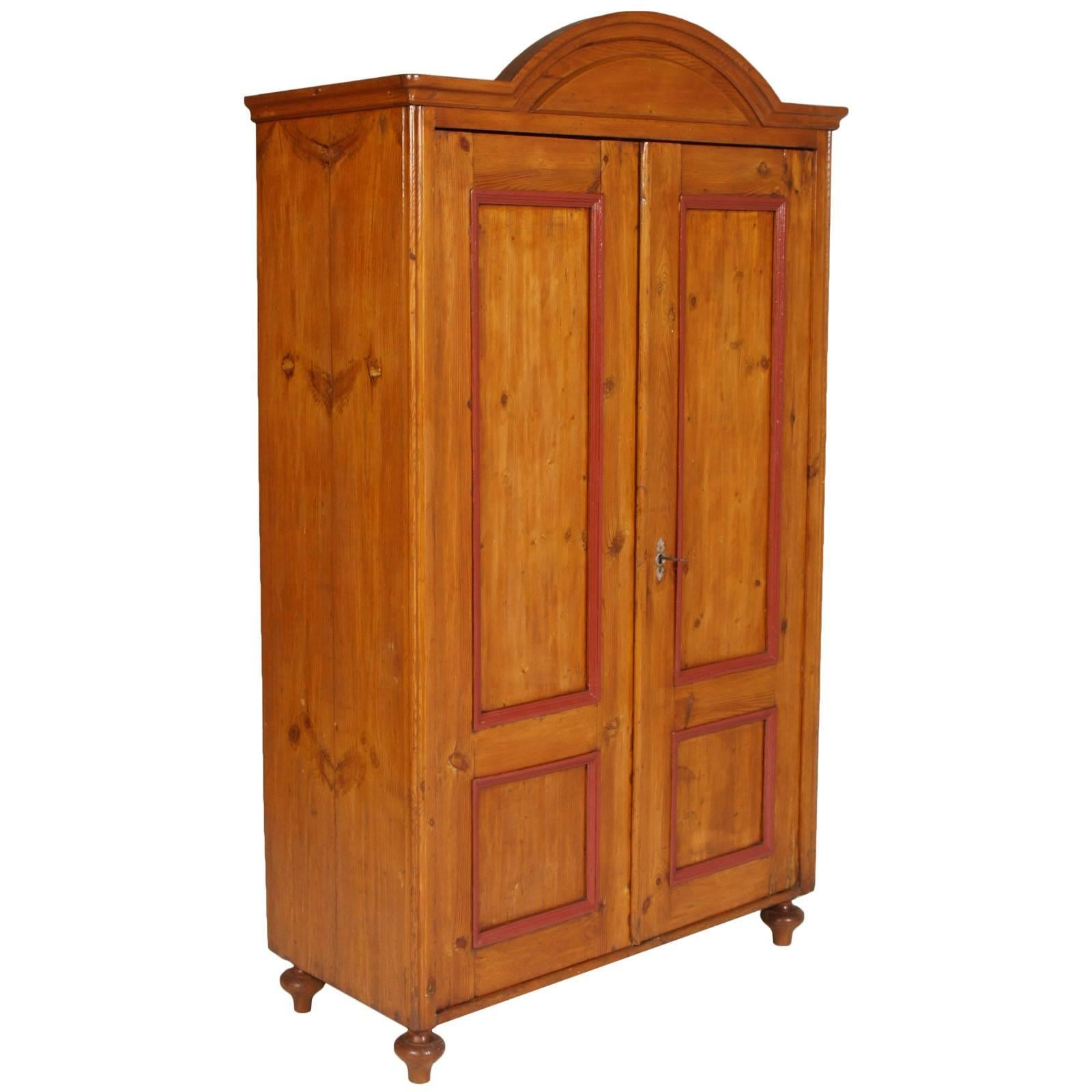 Workstead Wardrobe In Beech With Solid Wood Faceted Doors For Sale At  1stdibs