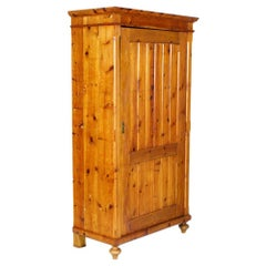 Tyrolean Antique Country Cupboard Wardrobe Bookcase in Fir