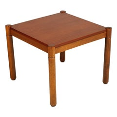 Mid-Century Modern Coffee Table, Afra e Tobia Scarpa Style, Polished to Wax